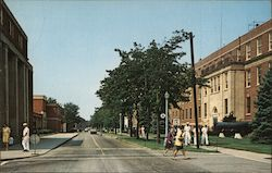 Dealey Center, Naval Submarine Base New London Postcard