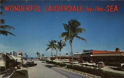 Wonderful Lauderdale-by-the-Sea Postcard