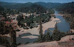 Aerial View of Russian River