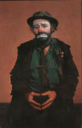 "World Famous Clown Emmett Kelly as ""Weary Willy"""