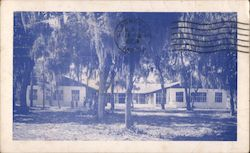 Barnett Lodge at Florida Conference Methodist Youth Camp Postcard