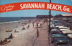 Greetings from Savannah Beach on Tybee Island