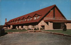 Lodge at Cacapon State Park Postcard