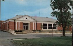 Lima Public Library Postcard