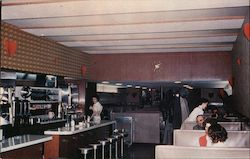 Interior of Ebertz Cafe
