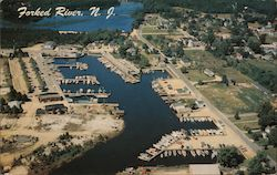 Aerial View of State Yacht Basin, Two of the Lakes at Barnegat Pines