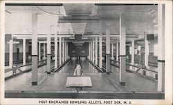 Post Exchange Bowling Alleys