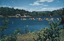 Schiff Scout Reservation, National Training Center Boy Scouts of America Postcard