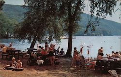 Picnicking and Bathing at Windermere Beach
