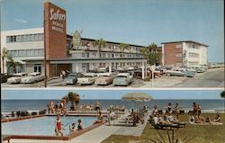Safari Beach Motel - Exterior View and Pool View