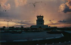 Hollywood-Fort Lauderdale International Airport at Sunset Postcard