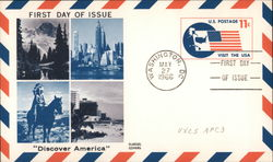 Discover America - First Day of Issue - May 27, 1966