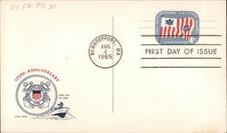 175th Anniversary United States Coast Guard - First Day of Issue