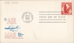 Flying Eagle 5 cent Airmail, Colorado Springs, July 31, 1958