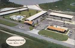 Howard Johnson's - Aerial View Postcard