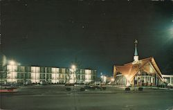 Howard Johnson's Motor Lodge - On Cape Cod Postcard