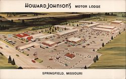 Howard Johnson's Motor Lodge Postcard