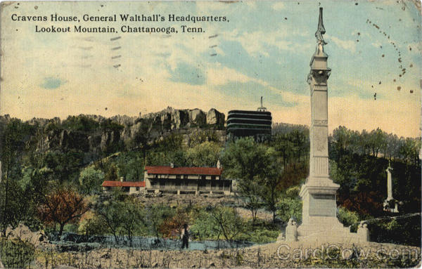 Cravens house, General Walthall's Headquarters Chattanooga Tennessee