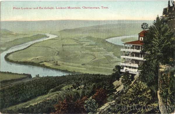 Point Lookout and Battlefield Chattanooga Tennessee
