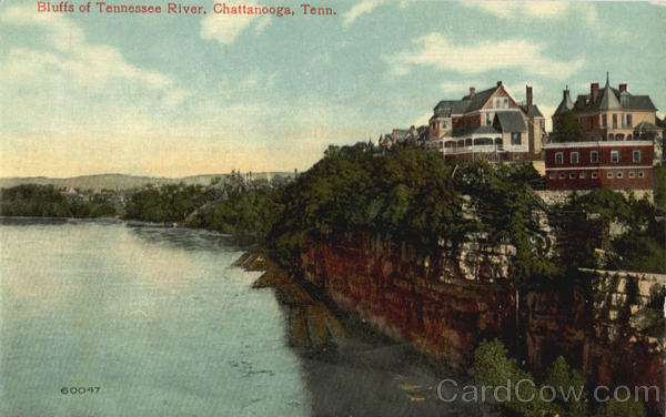 Bluffs of Tennessee River Chattanooga