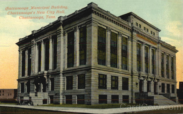 Chattanooga Municipal Building, Chattanooga's New City Hall Tennessee