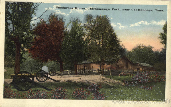 Snodgrass House, Chickamauga Park Chattanooga Tennessee
