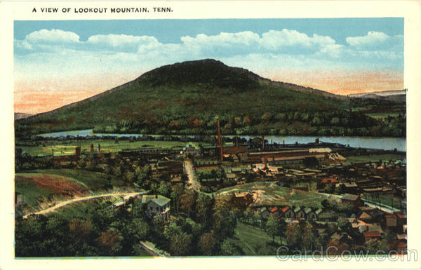 A View Of Lookout Mountain Tennessee