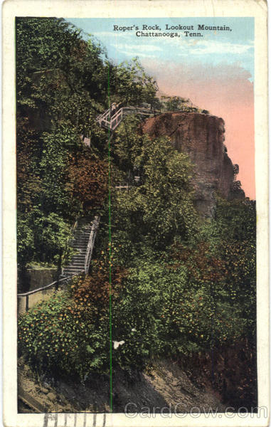 Roper's Rock, Lookout Mountain Chattanooga Tennessee