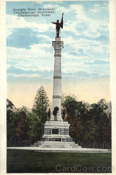 Georgia State Monument, Chickamauga Battlefield Chattanooga Tennessee
