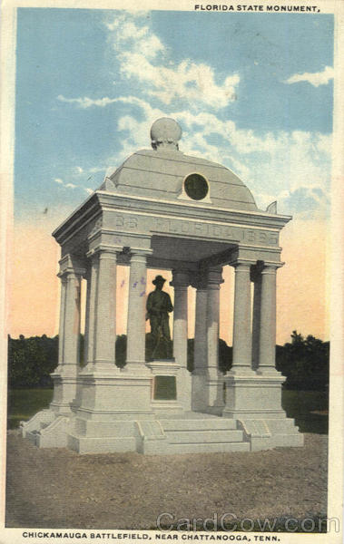 Florida State Monument, Chickamauga Battlefield Chattanooga Tennessee