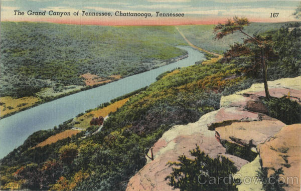 The Grand Canyon Of Tennessee Chattanooga