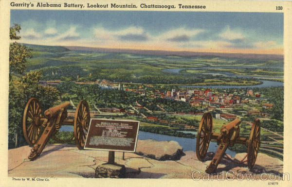 Garrity's Alabama Battery, Lookout Mountain Chattanooga Tennessee