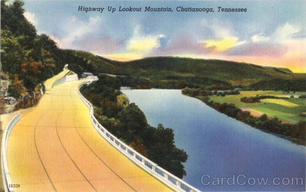 Highway Up Lookout Mountain Chattanooga Tennessee