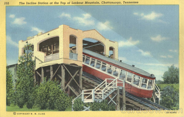 The Incline Station, Lookout Mountain Chattanooga Tennessee