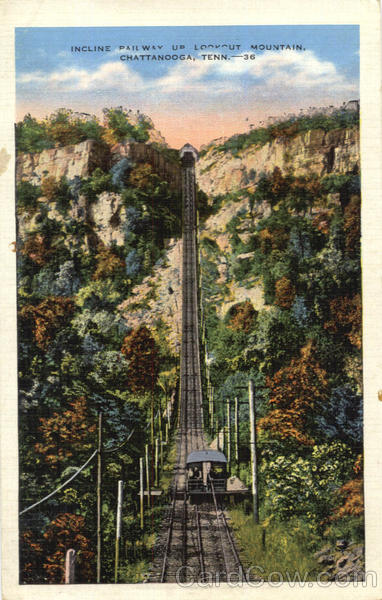 Incline Railway Car, Lookout Mountain Chattanooga Tennessee