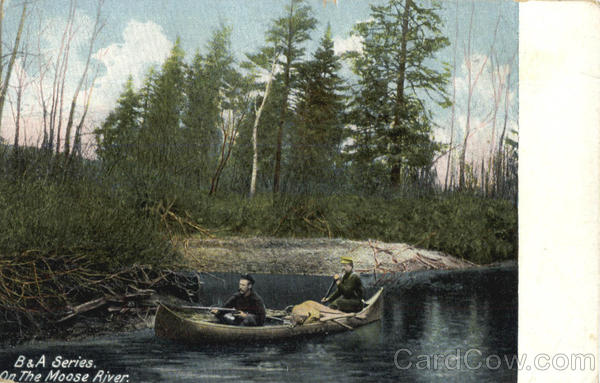 On The Moose River, Hunting, Hunters Scenic Maine