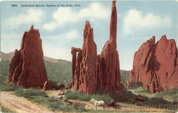 Cathedral Spires, Garden of the Gods Colorado
