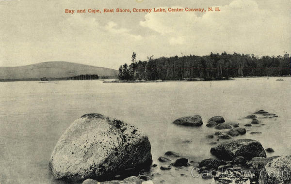 Bay and Cape, East Shore, Conway Lake Center Conway New Hampshire