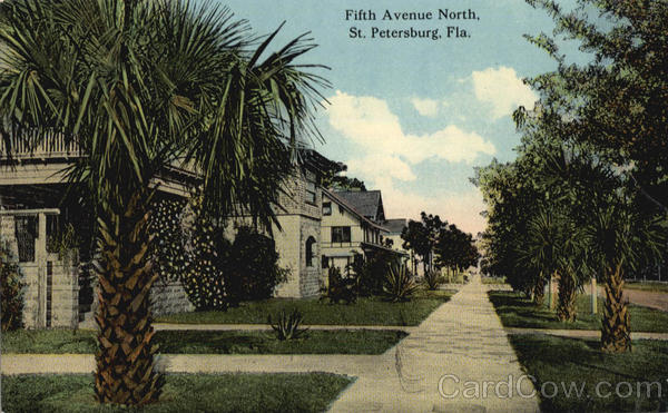 Fifth Avenue North St. Petersburg Florida