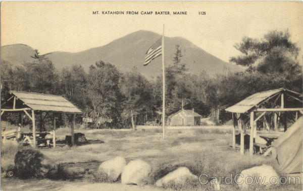Mt. Katahdin Camp Baxter Maine