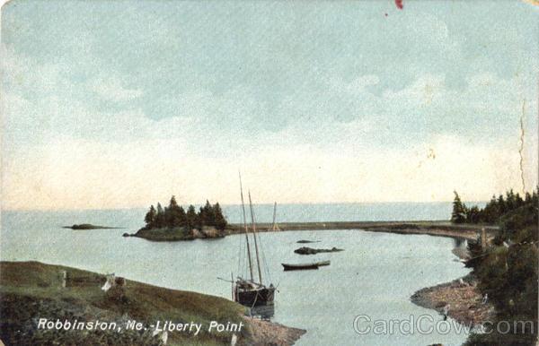 Liberty Point Robbinston Me