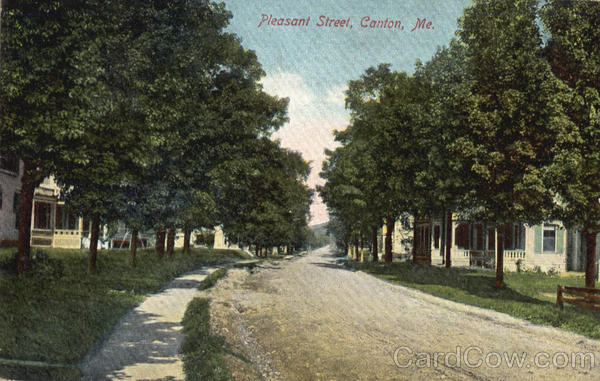Pleasant Street Canton Maine