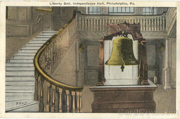 Liberty Bell, Independence Hall Philadelphia Pennsylvania