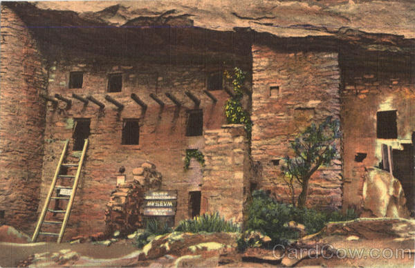 Spruce tree house and south section of the ruins. Manitou Cliff Dwellings Manitou Springs Colorado