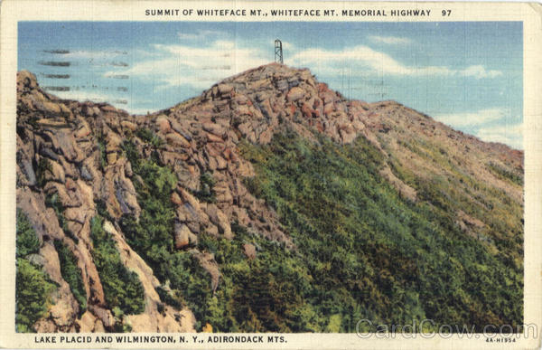 Summit of Whiteface Mt., Whiteface Mt. Memorial Highway Lake Placid and Wilmington New York