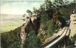 Electric Railroad Round West Bluff, Lookout Mountain