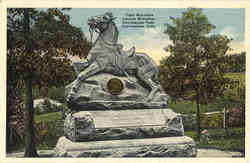 First Wisconsin Cavalry Monument, Chickamauga Park