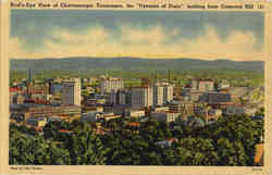 Bird's-Eye View of Chattanooga, Cameron Hill