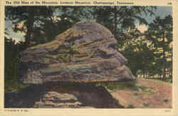 The Old Man of the Mountain, Lookout Mountain