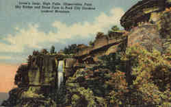 Lover's Leap, High Falls, Observation Point Sky Bridge and Stone Face, Lookout Mountain